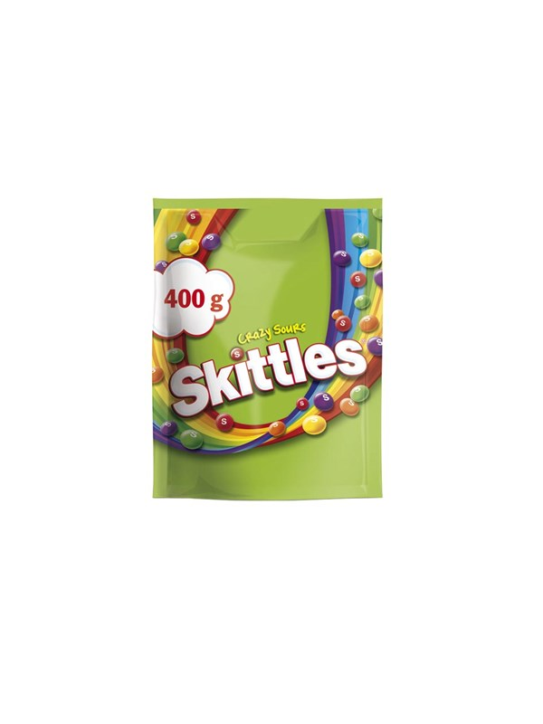 Skittles Crazy Sours 400g