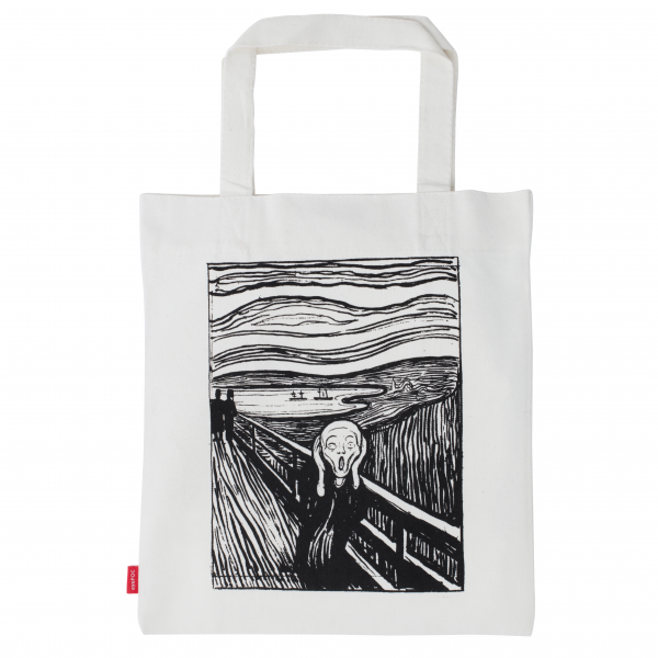 Shoppingbag, Edvard Munch Skriket